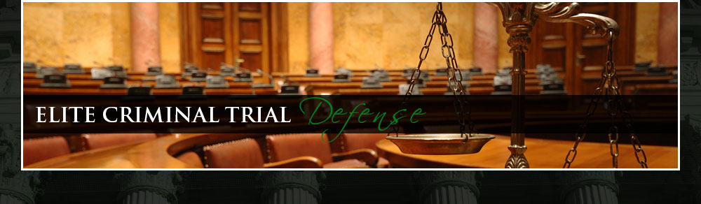Elite Criminal Trial Defense